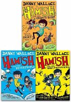 Danny Wallace Hamish 3 Books Collection Set Pack Hamish and the Gravity Burp
