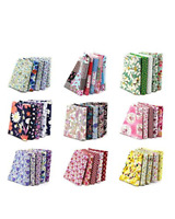100 Assorted pre cut charm pack 10 x 10 cm squares 100% cotton fabric quilt