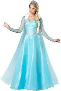 Sexy Adult Halloween InCharacter Deluxe Fairytale Frozen Snow Princess Costume