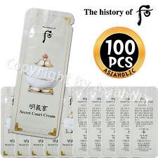 The history of Whoo Myunguihyang Secret Court Cream 1ml x 100pcs (100ml) Sample