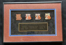John Elway Career Milestones Production Proof Pin Set Broncos Limited Edition 15
