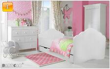 Cama de bebé cama infantil 140x70 160x80 con colchón cajonera barreras laterales