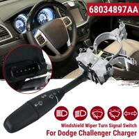 #68034897AA Windshield Wiper Turn Signal Switch For Dodge Challenger Charger