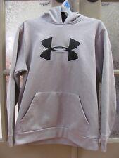 Under Armour Youth Hoodie YSM / JP Loose Hooded Sweatshirt Grey EUC