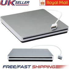 USB esterno CD RW Drive/Bruciatore/Scrittore Lettore DVD per Windows/Mac/PC Portatile Regno Unito