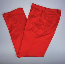 Womens Sz 32 Waist Master Bear Golf Stretch Pants Flat Front