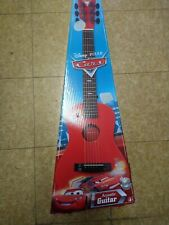Disney Pixar's Cars Childrens Guitar by First Act Includes the Box pre-owned