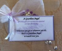 a Guardian Angel gift for a birthday gift for someone special Friend Mum gift
