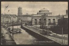 København - Copenhagen - Thorvaldsens Museum - 1909 Printed Postcard