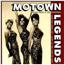 Diana Ross & Supremes, Motown Legends, Excellent Original recording remastered