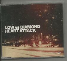 Low vs Diamond - Heart Attack US SEALED CD Enhanced EP 4 tracks  Stand Up + 2