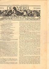"""JAARGANG DE MEREL 1930 (BIJBLAD """"HET KIND"""") - Mien Labberton (redactie)"""