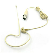 Tan Earset Microphone For Shure  BLX1 PG1, PGX1, SLX1 Bodypack Wireless System