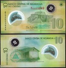NICARAGUA  10 Cordobas Polymer 2007 ( 2012 ) UNC P 201 b