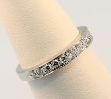 Tiffany & Co. 2.75mm Bead-Set Diamond Band Ring Sz 4.0 $3,049 after Tax