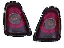 2007-2010 Mini Cooper Hatchback Pair of LED Smoke Lens Tail Lights