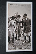 East Essex Foxhounds  Blooding   Vintage 1920's Photo Card  VGC / EXC