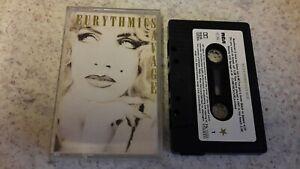 EURYTHMICS - SAVAGE CASSETTE 1987 RCA PLAY TESTED! ! !