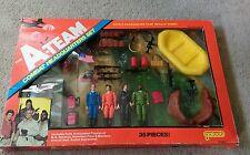 Vintage Galoob 1983 The A-Team Combat Headquarters Set Figures