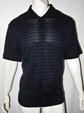 Calvin Klein men's stripped polo shirt size xxl new with tags  MSRP $59.50