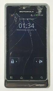 Motorola Droid 2 Global 8GB White (Verizon) Cracked Glass Bad Touch