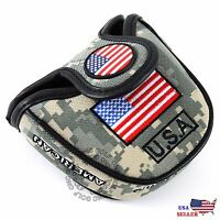 HEAVY DUTY USA Military Mallet Putter Cover For Scotty Cameron Odyssey 2ball