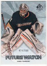 2011-12 Upper Deck SP Authentic #183 Iiro Tarkki Rookie RC #474/999