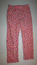 New Gap Kids Pink Christmas Lights Fleece Pajama PJ's Pants Size 8 Year NWT