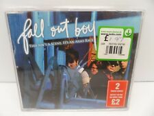 FALL OUT BOY This Ain't A Scene It's An Arms Race CD UK Mercury 2006 2 Track