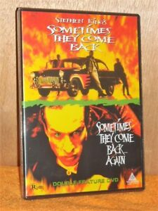 Sometimes They Come Back / Sometimes They Come Back... Again (DVD, 2004) NEW