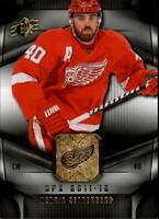 2011-12 SPx Hockey #66 Henrik Zetterberg Detroit Red Wings