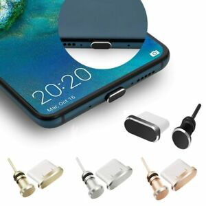 Charging Charger Port Anti Dust Plug Type C 3.5mm Port Cap Cover For SAMSUNG