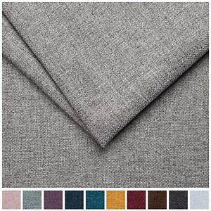 Malbec Linens Soft Plain Linen Look Heavy Furnishing Upholstery Fabric