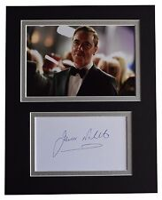 James Nesbitt Signed Autograph 10x8 photo display Stan Lee's Lucky Man COA