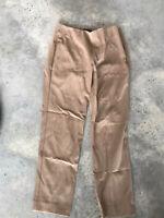 Talbots Beige Oatmeal Khaki Dress Trouser Pants Khakis Size 6P / 6 P