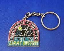 Jimmy Buffett 1999 Concert Tour Keychain - Beach House On The Moon Vintage
