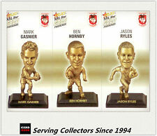 2008 Select NRL Gold Figurine Collectable Trading CARDS team Set Dragons (3)