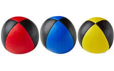 3X Henrys Jonglierball Bean Bag Premium Glattleder 67mm ROT GELB  BLAU - SCHWARZ