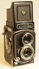 MINOLTA Autocord TLR Camera with 1:3.5 f=75mm Chiyoko Rokkor Lens
