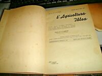 rivista L'AGRICOLTURA IBLEA anno IV° completo  rilegato - RAGUSA 1935
