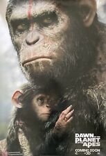 Dawn of the Planet of the Apes (2014) One-Sheet Us Cinema Teaser Quad Poster
