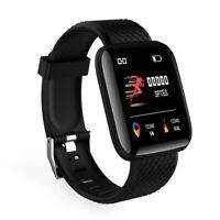IP67 Montre Smart Watch Intelligente Barcelet  Connectée Bluetooth 4.0 Noir BT
