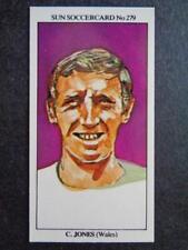 The Sun Soccercards 1978-79 - Cliff Jones - Wales #279