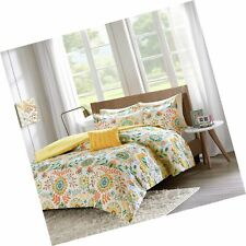 Intelligent Design Nina Comforter Set Twin/Twin Xl Size - Orange, Medallion –.