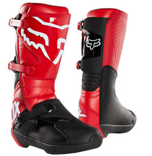 2020 FOX RACING MENS FLAME RED COMP MX MOTORCYCLE BOOTS SIZE 11