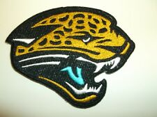 "Jacksonville Jaguars~Embroidered PATCH~3 1/2"" x 2 3/4""~Iron Sew~NFL~Ships FREE"
