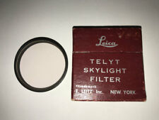 boxed LEICA skylight 48mm Filter for THAMBAR 90mm 9cm lens f2.2 & 20cm telyt