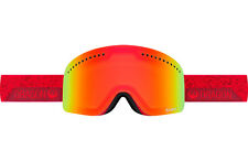 Dragon Alliance Nfx Ski Goggles Stone Red Yellow Red Ionized + Blue steel New