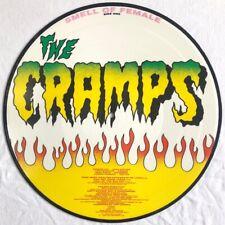THE CRAMPS -Smell Of Female- Rare Original UK LP Picture Disc (Vinyl Record)