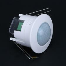 IR Infrared Motion Sensor Lamp 360° Ceiling Wall Automatic Light Control Switch